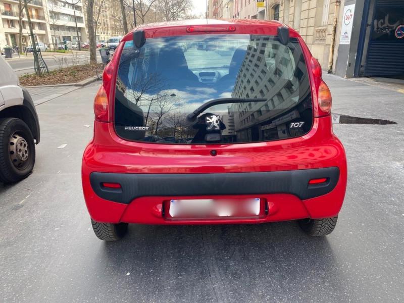 Photo 3 de l'offre de PEUGEOT 107 1.0 12V TRENDY 3P à 3990€ chez Iptrans Auto Paris