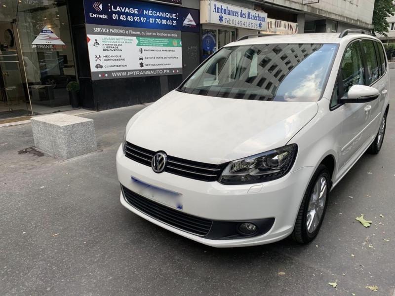 Volkswagen TOURAN 2.0 TDI 140CH  CONFORTLINE DSG6 Diesel BLANC Occasion à vendre