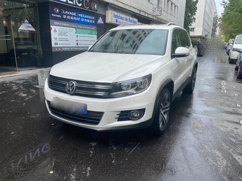 Volkswagen TIGUAN 2.0 TDI 140CH BLUEMOTION TECHNOLOGY  SPORTLINE 4MOTION DSG7 Diesel BLANC Occasion à vendre