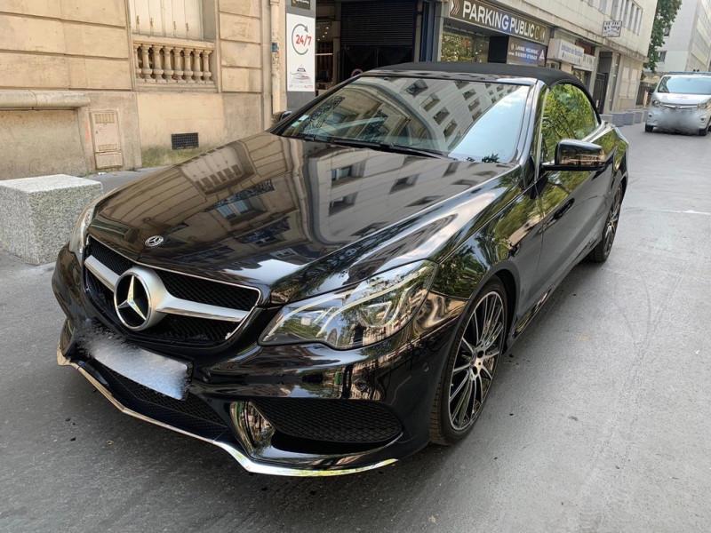 Mercedes-Benz CLASSE E CABRIOLET (A207) 350 BLUETEC SPORTLINE 9G-TRONIC Diesel NOIR Occasion à vendre