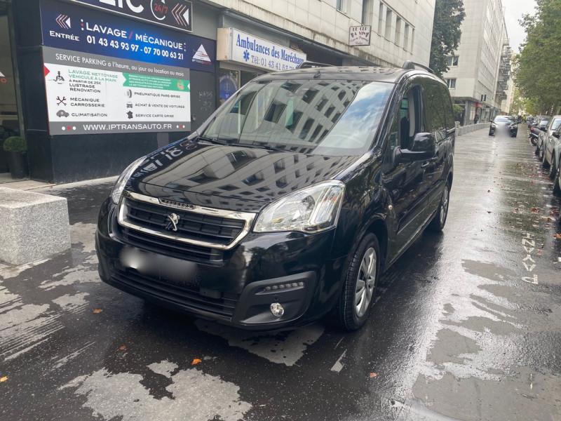 Peugeot PARTNER TEPEE 1.6 BLUEHDI 120CH OUTDOOR S&S Diesel NOIR Occasion à vendre