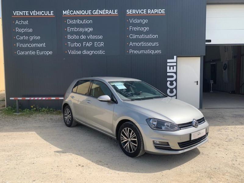 Volkswagen GOLF VII 1.4 TSI 125CH BLUEMOTION TECHNOLOGY MATCH ALLSTAR 5P Essence GRIS F Occasion à vendre