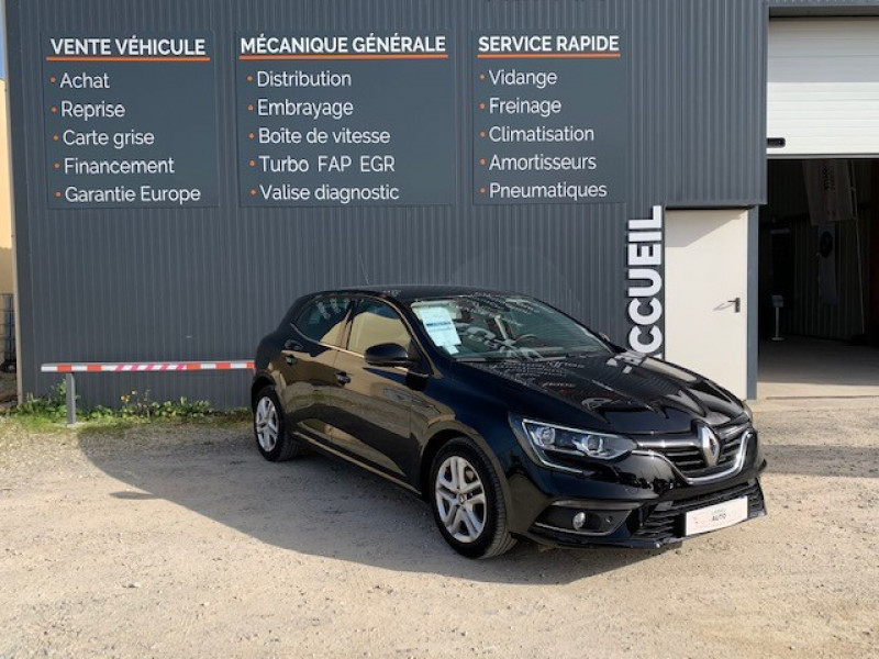 Renault MEGANE IV 1.5 DCI 110CH ENERGY BUSINESS Diesel NOIR Occasion à vendre