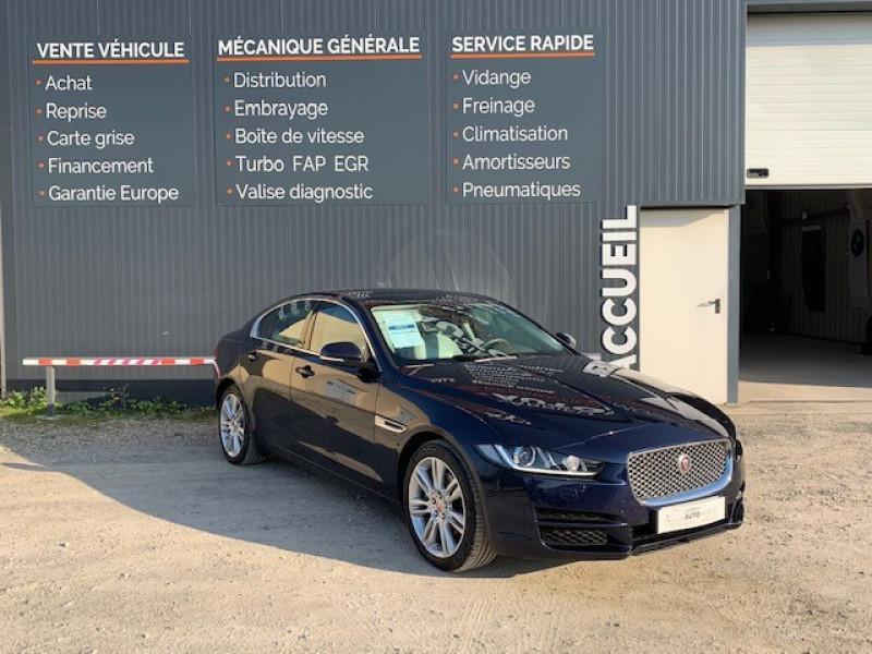 Jaguar XE 2.0D 180CH PORTFOLIO BVA8 Diesel BLEU F Occasion à vendre