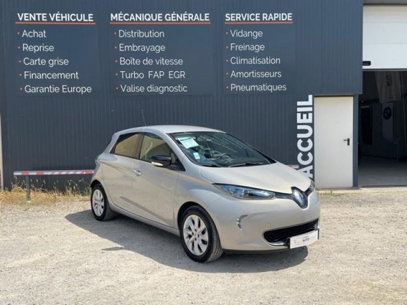 Renault ZOE INTENS CHARGE NORMALE R90 Electrique GRIS C Occasion à vendre