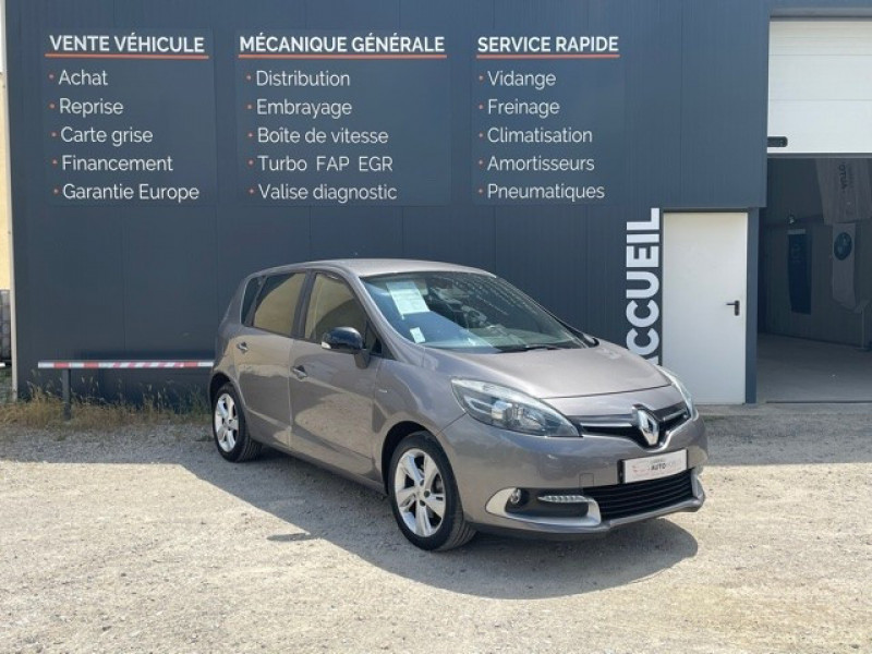 Renault SCENIC III 1.5 DCI 110CH LIMITED Diesel GRIS Occasion à vendre