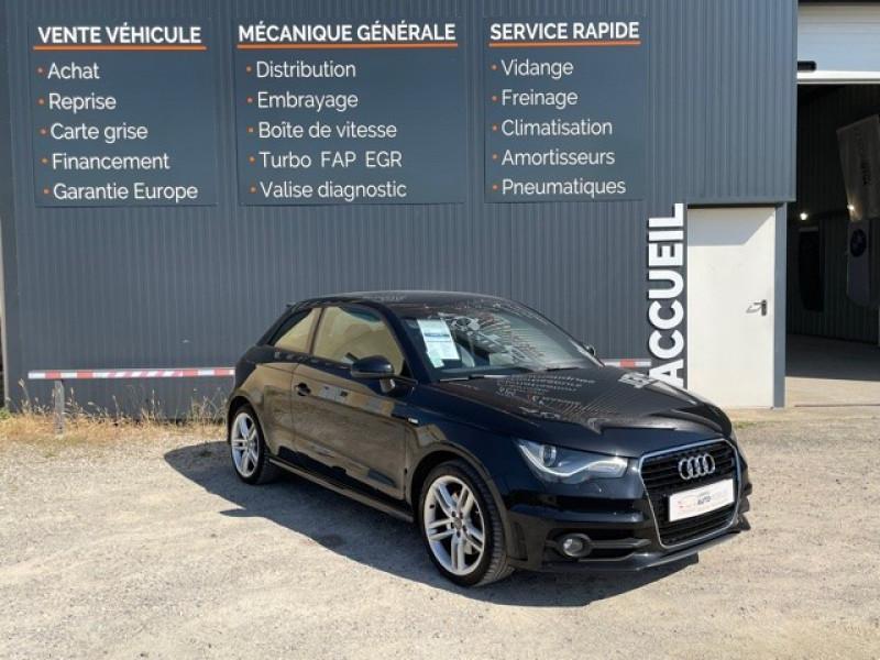 Audi A1 1.4 TFSI 185CH S LINE S TRONIC 7 Essence NOIR Occasion à vendre