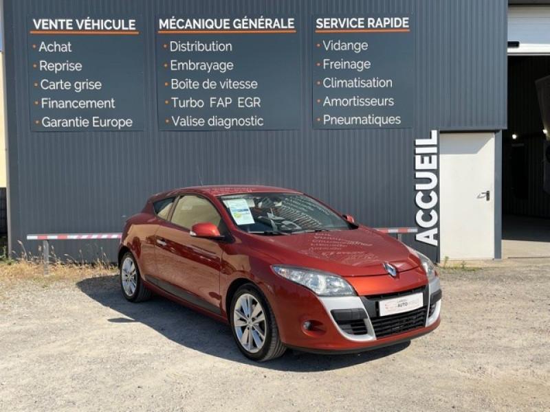 Renault MEGANE III COUPE 1.5 DCI 110CH FAP PRIVILEGE ECO² Diesel ORANGE Occasion à vendre