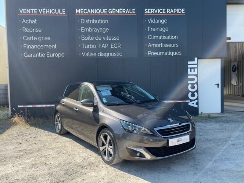Peugeot 308 1.6 E-HDI FAP 115CH FELINE 5P Diesel MARRON Occasion à vendre