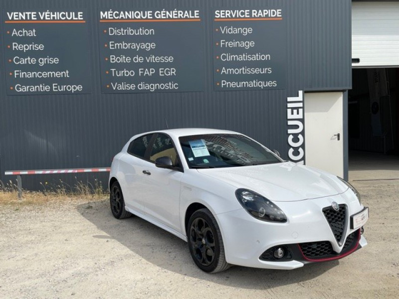 Alfa Romeo GIULIETTA 2.0 JTDM 150CH LUSSO STOP&START Diesel BLANC Occasion à vendre