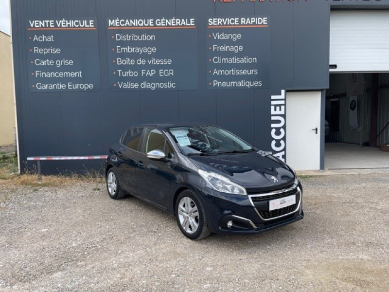 Peugeot 208 1.5 BLUEHDI 100CH E6.C SIGNATURE BVM5 86G 5P Diesel ANTHRACITE Occasion à vendre