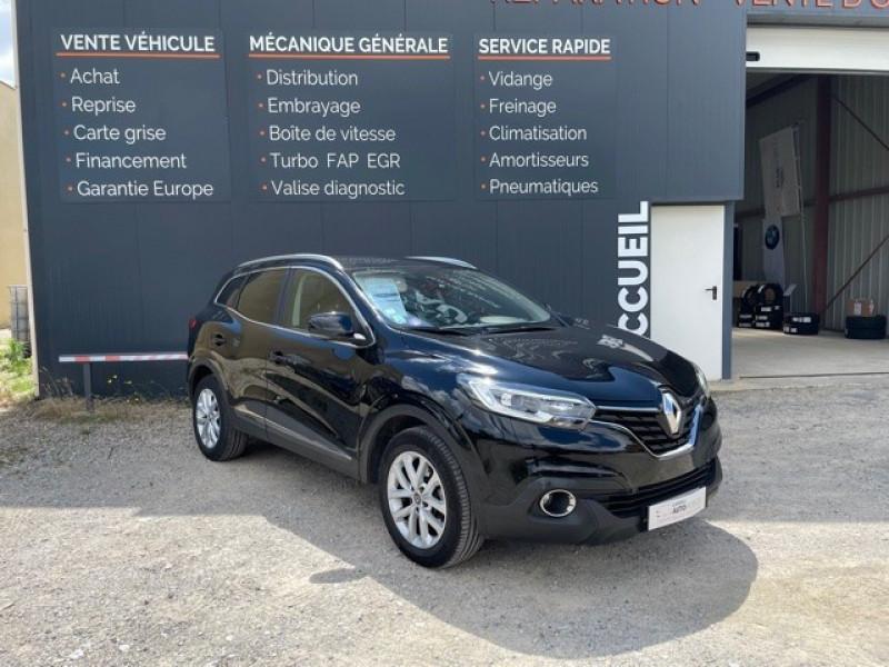 Renault KADJAR 1.2 TCE 130CH ENERGY GRAPHITE Essence NOIR Occasion à vendre
