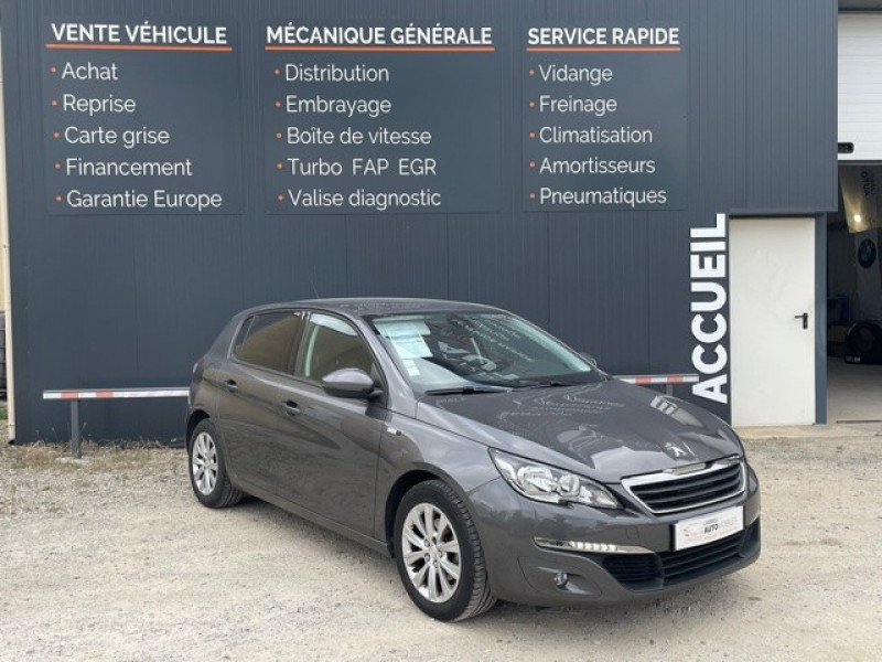 Photo 1 de l'offre de PEUGEOT 308 1.6 BLUEHDI 120CH STYLE S&S 5P à 11990€ chez Larrieu automobiles