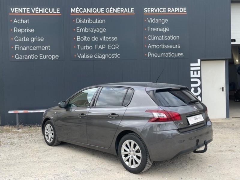 Photo 5 de l'offre de PEUGEOT 308 1.6 BLUEHDI 120CH STYLE S&S 5P à 11990€ chez Larrieu automobiles