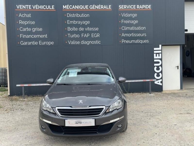 Photo 2 de l'offre de PEUGEOT 308 1.6 BLUEHDI 120CH STYLE S&S 5P à 11990€ chez Larrieu automobiles