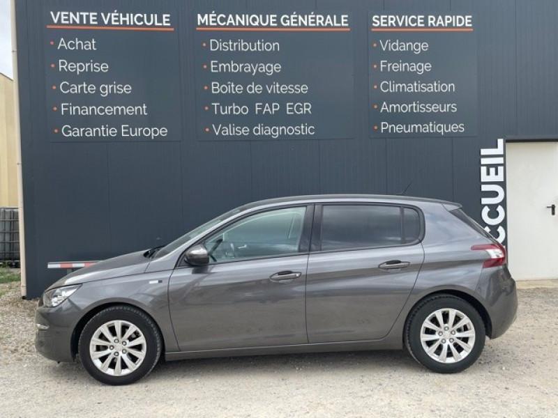 Photo 4 de l'offre de PEUGEOT 308 1.6 BLUEHDI 120CH STYLE S&S 5P à 11990€ chez Larrieu automobiles