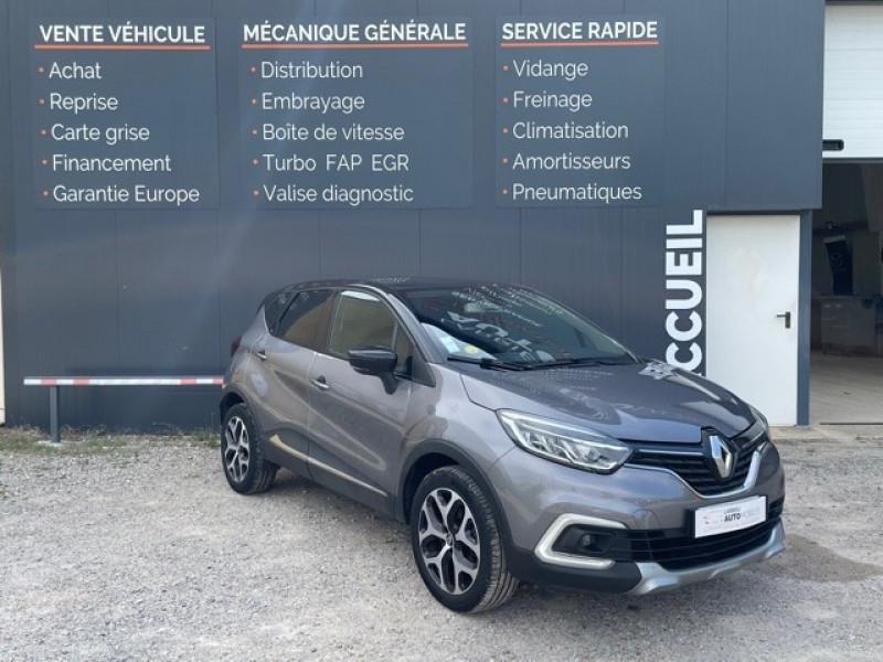 Renault CAPTUR 1.5 DCI 110CH ENERGY INTENS Diesel GRIS C Occasion à vendre
