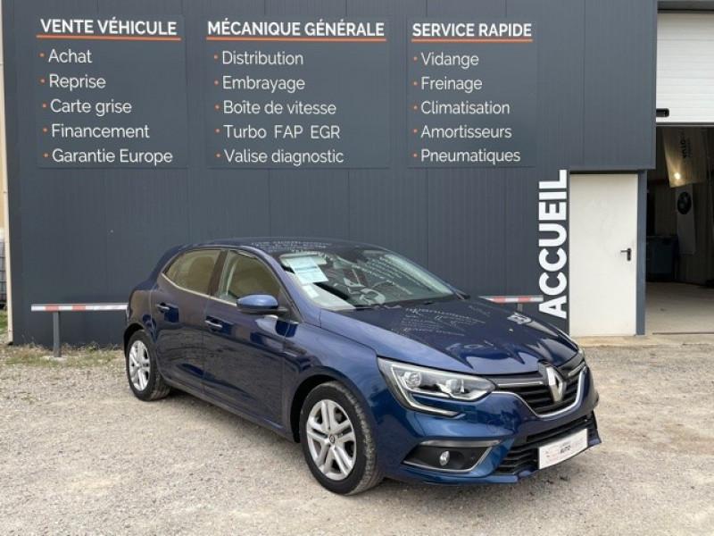 Renault MEGANE IV 1.5 BLUE DCI 115CH BUSINESS Diesel BLEU F Occasion à vendre