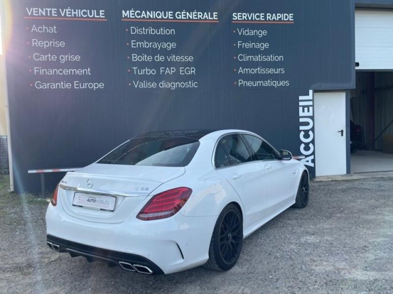 Photo 7 de l'offre de MERCEDES-BENZ CLASSE C (W205) 63 AMG SPEEDSHIFT MCT AMG à 64990€ chez Larrieu automobiles