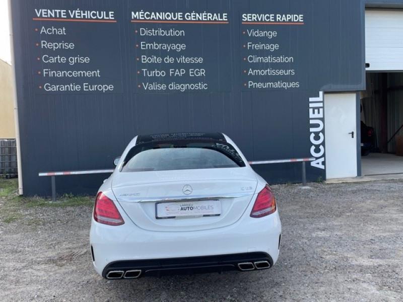 Photo 6 de l'offre de MERCEDES-BENZ CLASSE C (W205) 63 AMG SPEEDSHIFT MCT AMG à 64990€ chez Larrieu automobiles