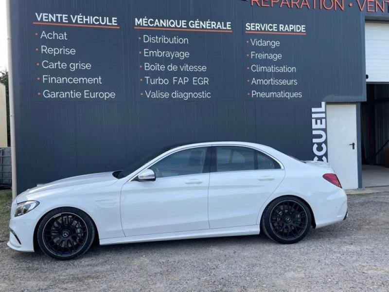 Photo 4 de l'offre de MERCEDES-BENZ CLASSE C (W205) 63 AMG SPEEDSHIFT MCT AMG à 64990€ chez Larrieu automobiles