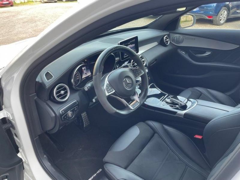 Photo 10 de l'offre de MERCEDES-BENZ CLASSE C (W205) 63 AMG SPEEDSHIFT MCT AMG à 64990€ chez Larrieu automobiles