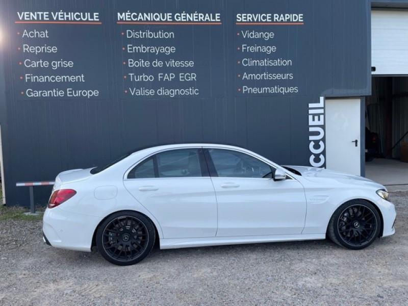 Photo 8 de l'offre de MERCEDES-BENZ CLASSE C (W205) 63 AMG SPEEDSHIFT MCT AMG à 64990€ chez Larrieu automobiles