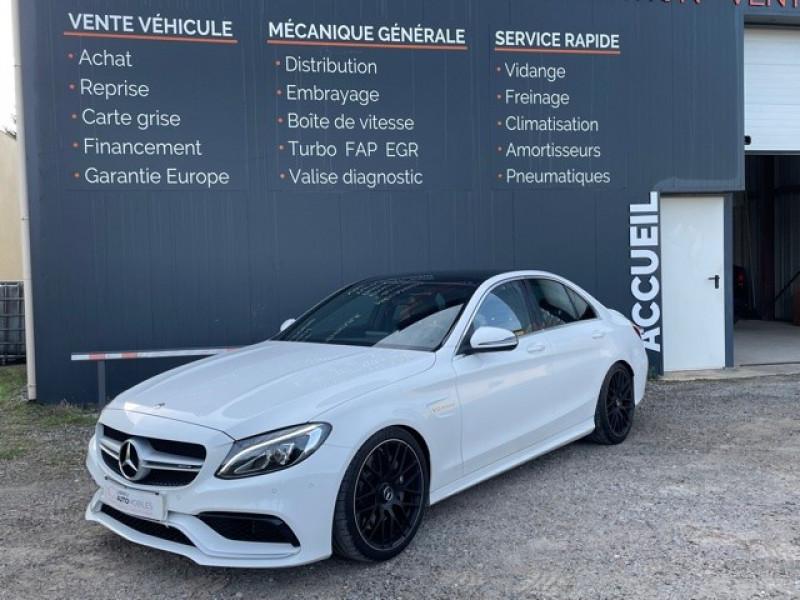 Photo 3 de l'offre de MERCEDES-BENZ CLASSE C (W205) 63 AMG SPEEDSHIFT MCT AMG à 64990€ chez Larrieu automobiles