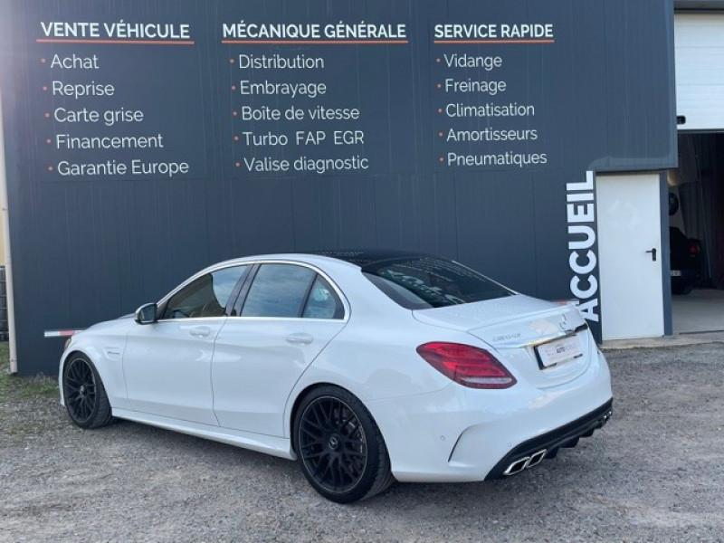 Photo 5 de l'offre de MERCEDES-BENZ CLASSE C (W205) 63 AMG SPEEDSHIFT MCT AMG à 64990€ chez Larrieu automobiles