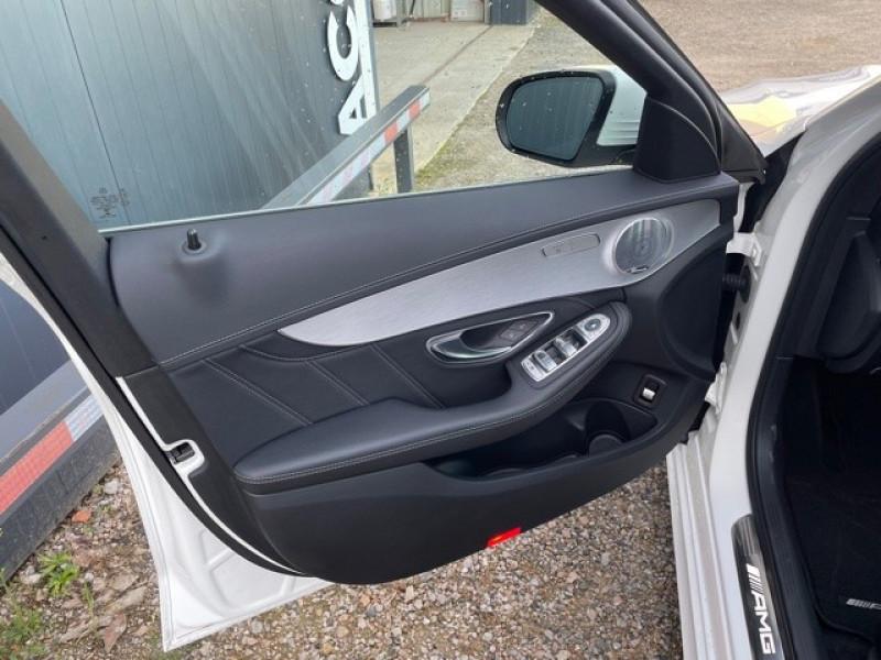 Photo 9 de l'offre de MERCEDES-BENZ CLASSE C (W205) 63 AMG SPEEDSHIFT MCT AMG à 64990€ chez Larrieu automobiles