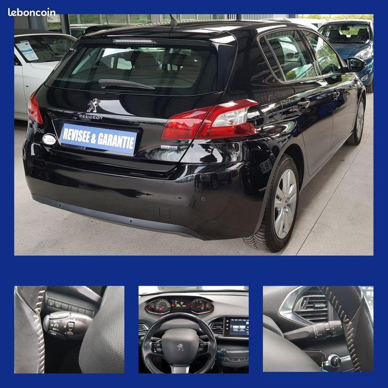 Photo 4 de l'offre de PEUGEOT 308 1.6 BLUEHDI 120CH ACTIVE S&S 5P à 10990€ chez L'Automobile - Jérôme BATHIARD