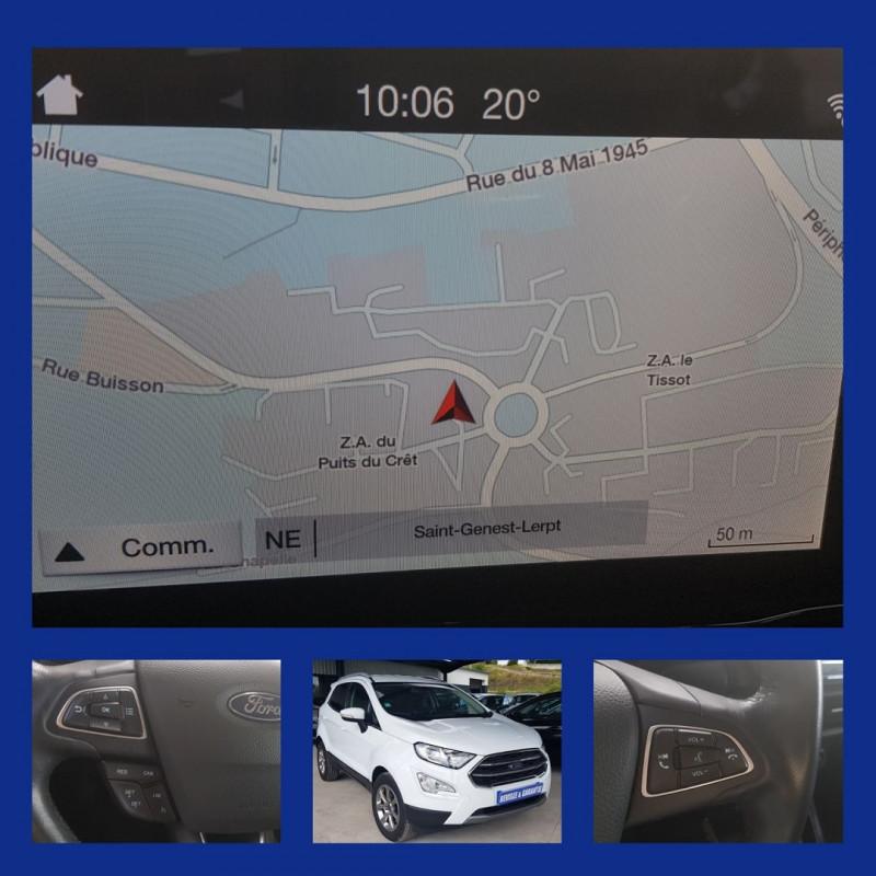 Ford ECOSPORT 1.5 TDCI 100CH TITANIUM Diesel BLANC Occasion à vendre