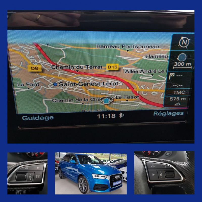 Photo 2 de l'offre de AUDI Q3 2.0 TDI 184CH S LINE QUATTRO à 29990€ chez L'Automobile - Jérôme BATHIARD