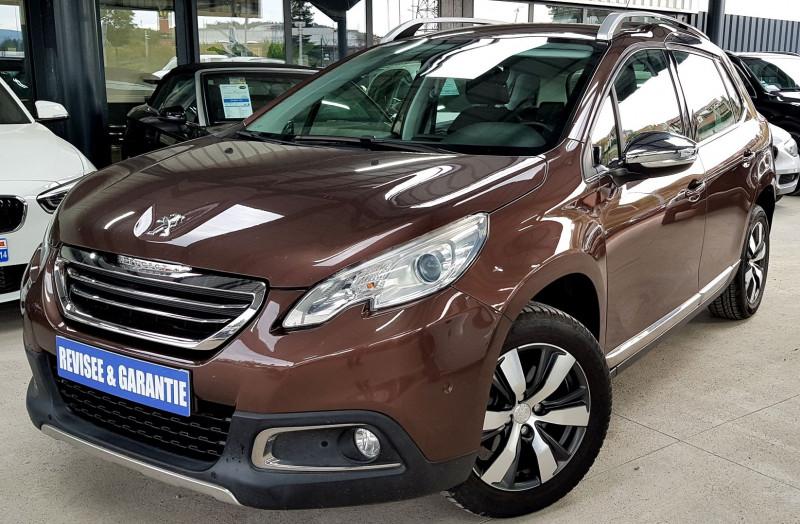 Peugeot 2008 1.6 E-HDI115 FAP ALLURE Diesel MARRON Occasion à vendre
