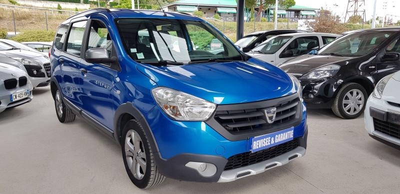 Dacia LODGY 1.5 DCI 110CH STEPWAY 7 PLACES Diesel BLEU C Occasion à vendre
