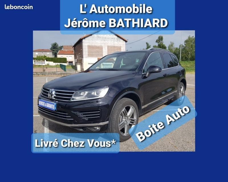 Volkswagen TOUAREG 3.0 V6 TDI 262CH BLUEMOTION TECHNOLOGY CARAT 4MOTION TIPTRONIC Diesel NOIR Occasion à vendre
