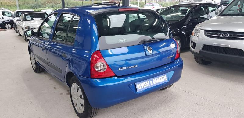 Renault CLIO II CAMPUS 1.2 60CH AUTHENTIQUE 5P Essence BLEU Occasion à vendre