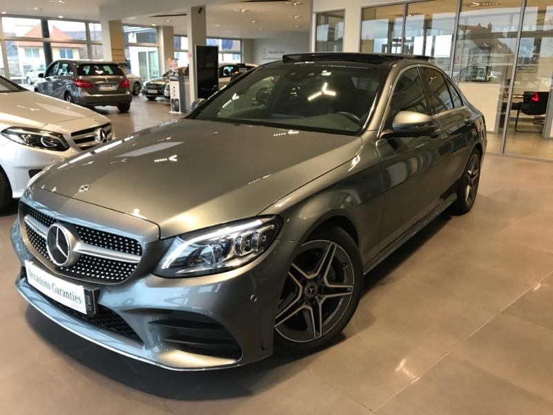 Mercedes-Benz Classe C 220 d 194ch AMG Line 9G-Tronic Diesel Gris Sélénite 992 Occasion à vendre