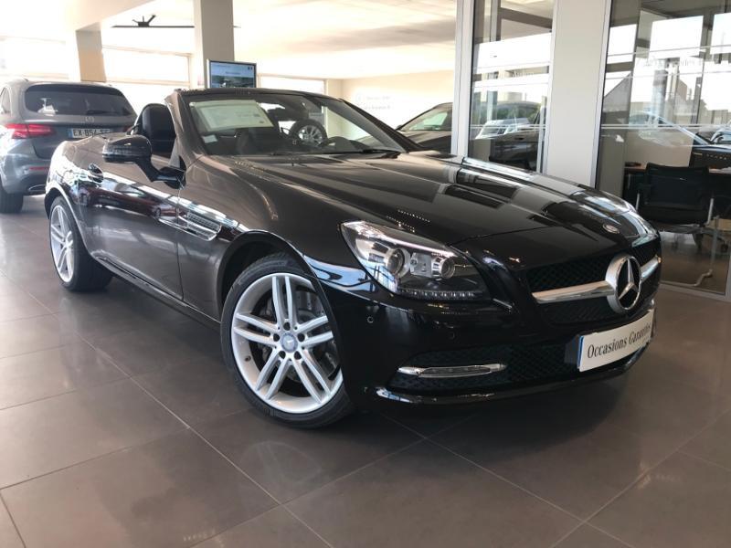 Mercedes-Benz Classe SLK 200 7GTro+ Essence Noir Obsidienne 197 Occasion à vendre