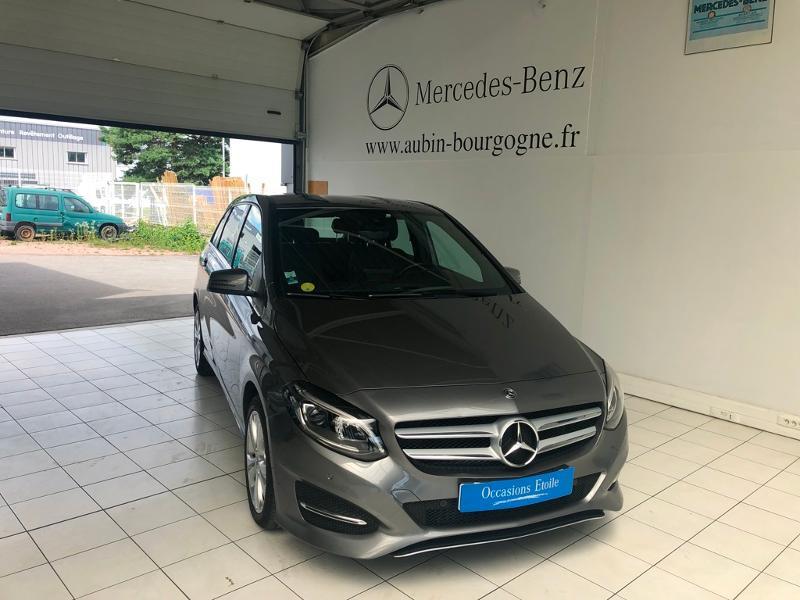 Mercedes-Benz Classe B 200d 136ch Sensation 7G-DCT Euro6c Diesel Gris Montagne 787 Occasion à vendre