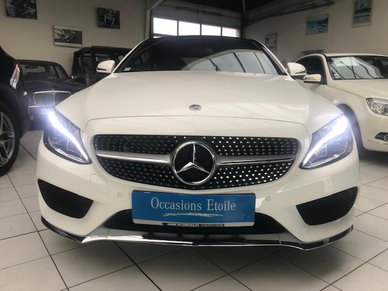 Mercedes-Benz Classe C Coupe 180 156ch Sportline Essence Blanc Polaire 149 Occasion à vendre