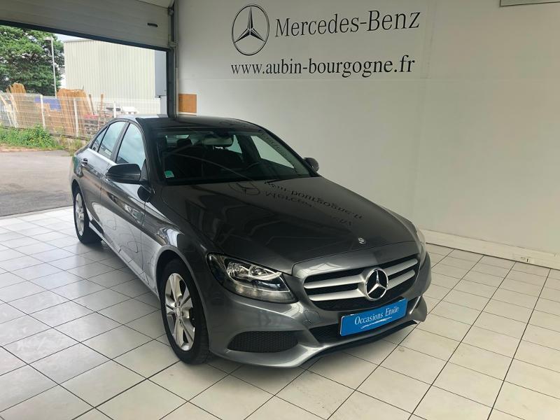 Mercedes-Benz Classe C 180 d Executive 7G-Tronic Plus Diesel Gris Sélénite 992 Occasion à vendre