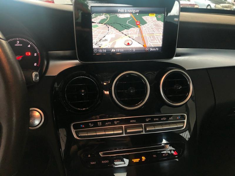 Photo 8 de l'offre de MERCEDES-BENZ Classe C 180 d Executive 7G-Tronic Plus à 21900€ chez Aubin automobiles