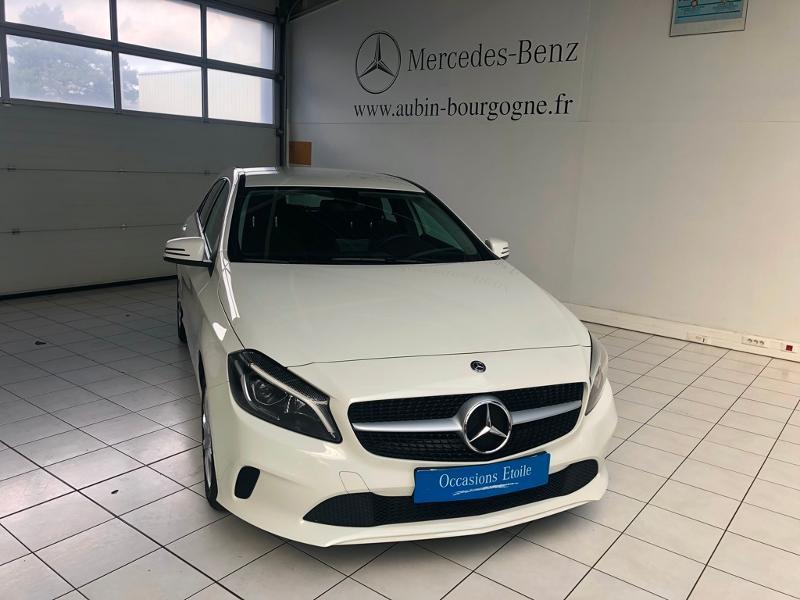 Mercedes-Benz Classe A 180 d Intuition Diesel Blanc Calcite 650 Occasion à vendre