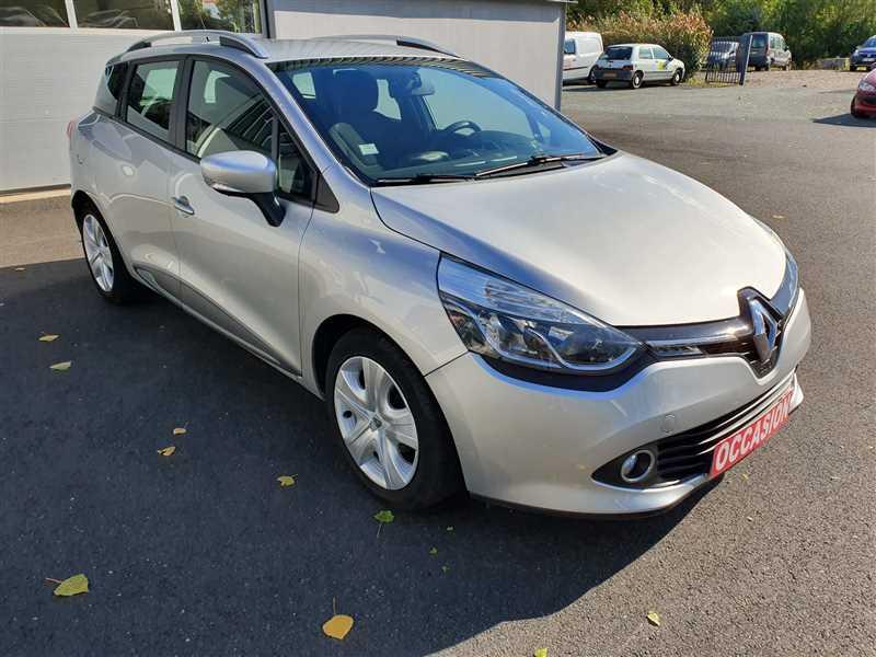 Renault CLIO ESTATE IV CLIO ESTATE IV  1.5DCI 90 BUSINESS GAZOLE GRIS Occasion à vendre