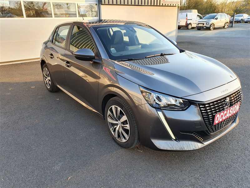 Peugeot 208 II 208 II 1.2PURETECH 75 S&S ACTIVE BUSINESS ESSENCE GRIS PLATINIUM Occasion à vendre