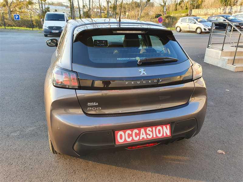 Photo 3 de l'offre de PEUGEOT 208 II 1.2PURETECH 75 S&S à 16190€ chez Mareuil automobiles