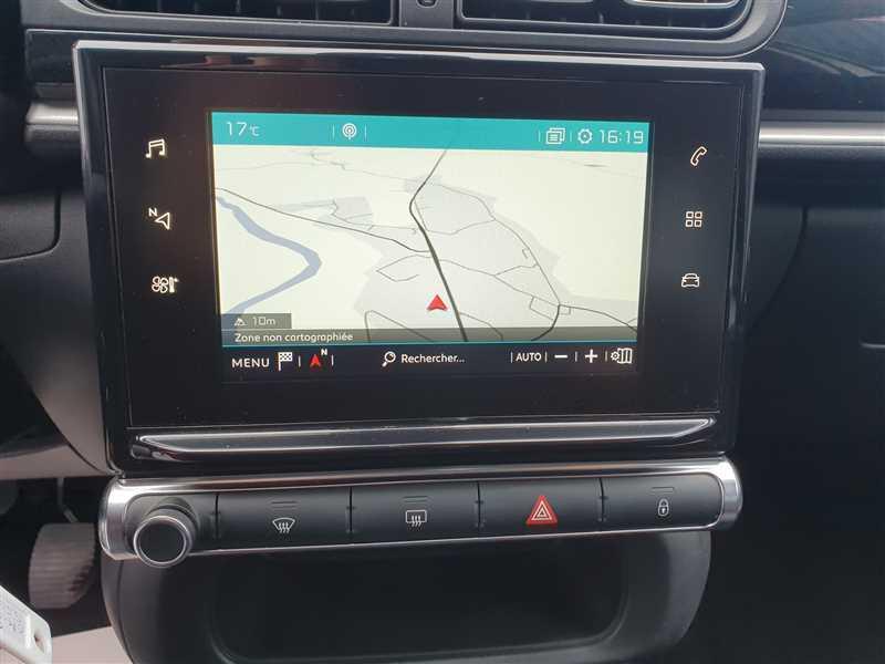 Photo 8 de l'offre de CITROEN C3 Sté VUL C3 III 1.6HDI75 STE FEEL NAV à 6990€ chez Mareuil automobiles