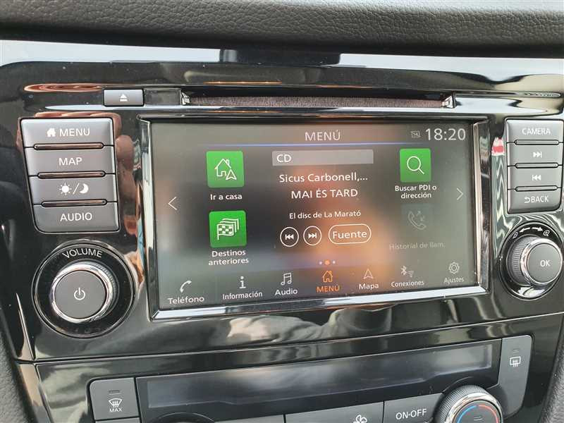Photo 9 de l'offre de NISSAN QASHQAI II QASHQAI II Ph2 1.5DCI 115 N-CONNECTA  à 20790€ chez Mareuil automobiles