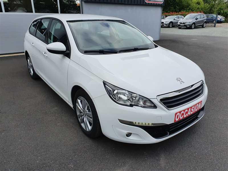Peugeot 308SW 308 SW 1.6 BHDI120 ACTIVE BUSINESS GAZOLE BLANC Occasion à vendre